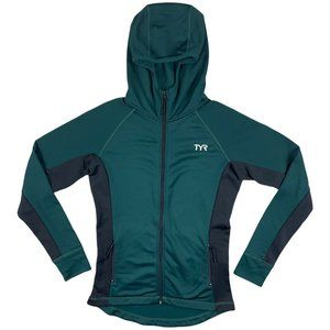 TYR Teal Fitted Jacket